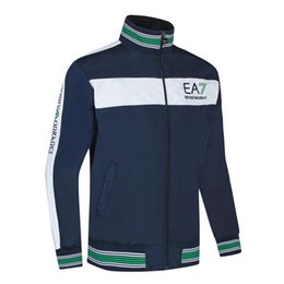 EmbroidErEd sports jackEts online shopping - New casual striped mens designer jacket fashion luxury sport jacket for men embroidered letter men jacket