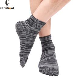 1509518b2 VERIDICAL men toe socks ankle colorful color male five 5 Toe Socks 5  fingers socks Middle Tube Cotton Five Finger Toe Sock