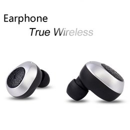 Fineblue Stereo Australia - 2018 Fineblue RWS-X8 TWS Twins True Wireless Bluetooth V5.0 In-Ear Control Long Battery Life Earbuds With Charging Base