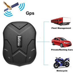 wholesale gps car trackers Australia - TK905 Quad Band GPS Tracker Waterproof IP65 Real Time Tracking Device Car GPS Locator 5000mAh Long Life Battery Standby 120Days