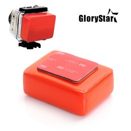 Floating Blocks Australia - GloryStar Gopro Float Floaty Box With 3M Adhesive Anti Sink Sticker Float Block Buoy Sponge for Gopro Hero 4 3 2