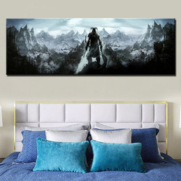 $enCountryForm.capitalKeyWord NZ - 1 Piece Video Game Painting Canvas Wall Art Picture For Living Room Print and poster decor artwork
