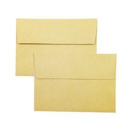 Wholesale Stationary Papers UK - 50 Pcs lot Vintage Kraft Paper Envelopes DIY Multifunction Cards Message Card Letter Stationary Storage Paper Gift
