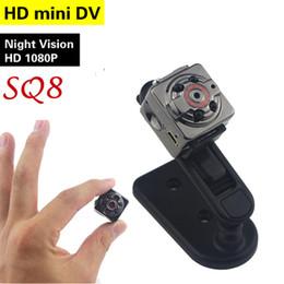 SQ8 Mini Câmera Do Carro DVR HD 1080 P Câmera de Visão Noturna Mini Detecção de Movimento Gravador de Vídeo Filmadora Micro Câmera Do Carro venda por atacado