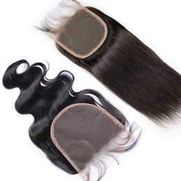 $enCountryForm.capitalKeyWord UK - 5x5 Top Lace Closures Body Wave Straight Closures Free Part Natural Color Can be Dyed Lace Closure