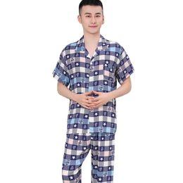 Men's Pajama Sets Sensible 2019 New Summer Mens Pajamas Sexy Sleepwear Male Short-sleeve Shorts Pajamas Fashion Men Homewear Sets For Fast Shipping