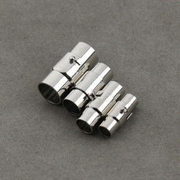 Jewelry Findings & Components Beads & Jewelry Making Good 5sets Silver Strong Round Magnetic Clasps Fit 3-7mm Leather Cord Bracelets Diy Connectors Accessories Making Fittings
