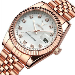 $enCountryForm.capitalKeyWord Canada - Hot Couple Luxury watch women mens watches Top Brand Fashion Full Stainless steel Quartz Wristwatches for Men Ladies best gift Free Shipping