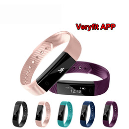 Discount pet clocks - ID115 Smart Bracelet Fitness Tracker Step Counter Activity Monitor Band Alarm Clock Vibration Wristband IOS Android phon