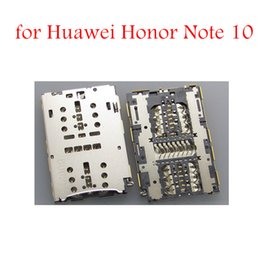 sim slot connector 2019 - for Huawei Honor Note 10 SIM Card Reader Card Slot Tray Holder Connector Socket for Huawei Honor Note10 Repair Spare Par
