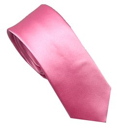 Apparel Accessories Mens Suit Ties New Design Rose Red With Blue Spots Checks Necktie Skinny Tie 7cm Dress Shirts Wedding Cravat Gravatas Corbata