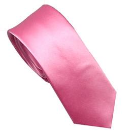 Apparel Accessories Mens Suit Ties New Design Rose Red With Blue Spots Checks Necktie Skinny Tie 7cm Dress Shirts Wedding Cravat Gravatas Corbata