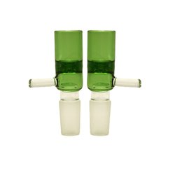 Female Male Piece Bong UK - Wholesale High Quality 14mm 18mm Male Female Colorful Glass Bowl Thick Pyrex Glass Bowls with Tobacco Herb Water Bong Piece for Smoking