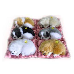 $enCountryForm.capitalKeyWord NZ - New Simulation Animal Cat Bed Dog Pet Birthday Gift Sleepping Cat Dog Electronic Pet