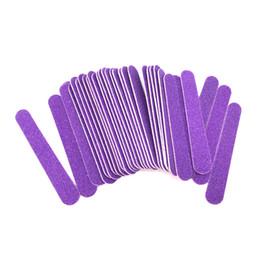 $enCountryForm.capitalKeyWord UK - Tools Files 200pcs MiNi Purple Wood Disposable Cuticle Remover Buffer Sanding Nail File 180 240 Nail Care Professional Salon Tools