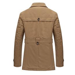 Mens Faux Fur Lining Jacket NZ - Winter Jacket Men Thicken Fleece Coat Male jaqueta masculina Mens Long Section Faux Fur Lining Outwear Jackets Overcoat Parkas