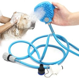 bathroom cleaning supplies 2018 bulk palm sized pet bathing tool comfortable massager shower tool - Bathroom Cleaning Supplies