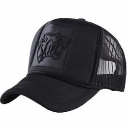 373dad5c630 Summer Mesh Black Leopard Print Curved Baseball Caps For Women Men Snapback  Hats Casquette Trucker Net Cap Sun Visor Hip Hop Hat