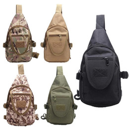 High Quality Army Fan Portable Tactical Shoulder Bag Outdoor Riding Bag  Fashion Sports Chest Unisex Style 196d0ca9045de