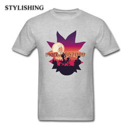 Discount silver rounds for sale - Hot Sale Tops Men TShirt Funny Round Collar Cotton Short T-Shirt For Men Boy Cartoon