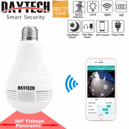 Discount security camera light - DAYTECH WiFi IP Camera Wireless HD 960P 1080P Camera Home Security Baby Room 360 degree Panoramic Angle Lamp Light Two-w