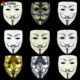 $enCountryForm.capitalKeyWord UK - 1PCS 8 Style Party Masks V for Vendetta Mask Anonymous Guy Fawkes Fancy Adult Costume Accessory Party Cosplay Halloween Masks,7