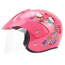 kids safety helmets 2019 - Free Shipping NEW Cute Children's Motocross Motorcycle Helmet Winter Warm Comfortable Motos Safety Helmets For Kids