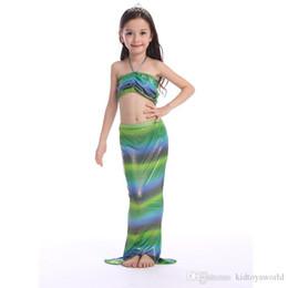 $enCountryForm.capitalKeyWord Australia - Top quality Girls Bikini Mermaid Tail Swim Suit Dress Infant Kids Swimsuit Swimwear Bathing Suits Summer Swimwear Costumes