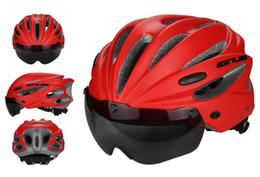 $enCountryForm.capitalKeyWord Canada - GUB K80 Plus Bicycle Helmet Ultralight MTB Road Bike With Goggles Lens EPS Material 58-62CM Integrally-molded Cycling Helmet