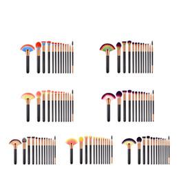 Discount high end makeup brushes set - Zouyesan Free Shipping 2019 13 makeup brushes set beauty tools black gold black silver loose powder brush flat brush hig