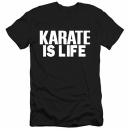 $enCountryForm.capitalKeyWord UK - New Men's Short Sleeved T - Shirt Karate Is Life Karate Team Tailored for Training Clothes