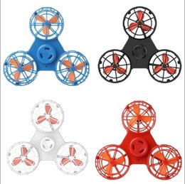 Discount spin tops - Flying Boomerang Fidget Rechargeable Automatic Rotatable Low-Speed Flying Fidget Spinner Spinning Top Pressure Reliever