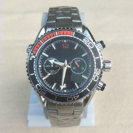 1f117f62dda Mens Relógios Marca Relógio Em Execução Cronômetro De Quartzo De Luxo  Calendário Relógios De Pulso De Aço Inoxidável Legal Men Assista Atacado