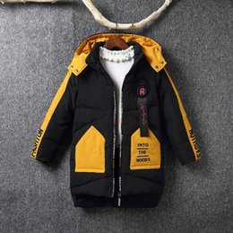c5521b9537b Children Winter Down Jacket 2018 Boys Duck Down Coat Hooded Outerwear  Clothing Kids Warm Parkas Coats For Boys 6-12 Years