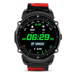 Chinese  GPS Smart Watch MTK2503 Sport Watch IP68 Waterproof Smartwatch Heart Rate Fitness Tracker Multi-mode for Android manufacturers
