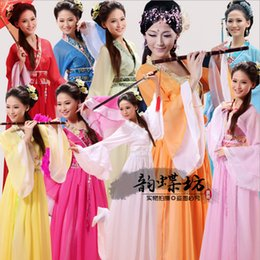 Women Costume Hanfu Australia - Ancient Chinese Costume Chinese Traditional Hanfu Women Qing Dynasty Costume National Dance Costumes Children Women
