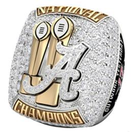 Tamanho 6-15 para NCAA 2017 Alabama Crimson Tide Championship ring