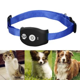 Discount dog collar tracker - GPS Trackers PET Realtime GPS GSM Tracker System For Cats Dogs FREE APP For Mobile Dog Cat collars TK208 2018 Universal