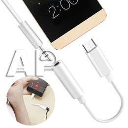 $enCountryForm.capitalKeyWord NZ - USB 3.1 Type C to 3.5mm Earphone Adapter USB-C Male to Female Jack Audio Cord Adapter for Samsung s9 Note9 Type-C