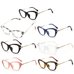 370139a13e Aoron Women Retro Sexy Eyeglasses Frame Fashion Cat Eye Clear Lens ladies  Eye Glasses