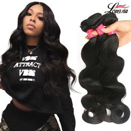 Discount peruvian hair bundles 16 inches - Malaysian Body Wave Hair Unprocessed Malaysian Body Wave Virgin Hair 3 4 Bundles Natural Color Body Wave Virgin Human Ha