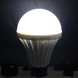 Wholesale E27 LED Bulbs Emergency Lamp W W W W Manual Automatic Control degree Light for Hurricane Power Outage Outdoor Camping Flashlight