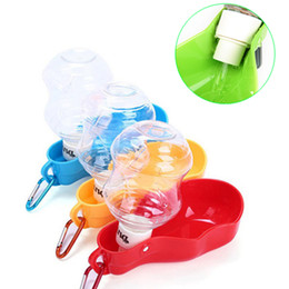 pet travels NZ - Outdoor Travel Portable Pet Dog Water Bottle Dog Drinking Bottles Puppy Pet Watering Bowls Pet Shop Supplies Wholesale