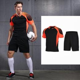 $enCountryForm.capitalKeyWord Australia - Hot Soccer Jerseys Customized 2018 Polyester Slim Fit Short-sleeve Men Football Shirt Training Summer Soccer Jersey