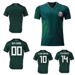 62b4c151273 Sportswear Soccer Mexico Breathable Short Sleeve Shirt Soccer Jerseys  Uniforms 2018 world cup special Football Jerseys Customized any name