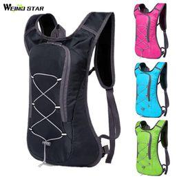 Ultralight folding bag online shopping - Cycling Backpack L Waterproof Nylon MTB Bike Bicycle Bag Breathable Reflective Portable Folding Water Bag Ultralight black
