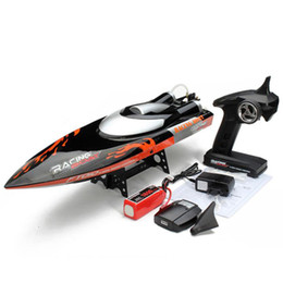 $enCountryForm.capitalKeyWord NZ - Large 65cm FT010 2.4G RC Racing Boat Remote Control Brushed Speedboat High Speed 35KM H Water Cooling System Toys VS FT012