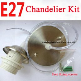 Discount lamp chandelier parts 2018 chandelier crystal lamp parts discount lamp chandelier parts e27 lamp holder for simple light chandelier accessories kit ceiling aloadofball Image collections
