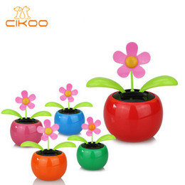 7bb3f2e87 Solar Power Dancing Toys Wholesale Australia - Solar Powered Dancing Flower  Toy Flip Flap Car Desk