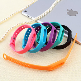 Wholesale 6 Colors Colorful Silicone Replace Belt Strap For Xiaomi Mi Smart Wristband Mi Band Bracelet Replacement Band Accessories